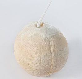 Fully Polished Ball Style Coconut
